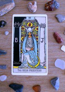 Card Reading Waite Medium Priestess